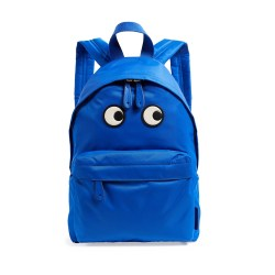 Anya Hindmarch Electric Blue Eyes Backpack