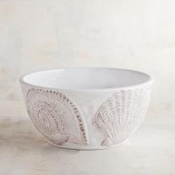 Seashell Melamine Bowl