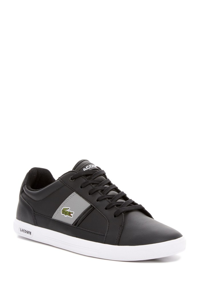 Lacoste Europa Mens Leather Sneakers on Sale from Nordstrom Rack