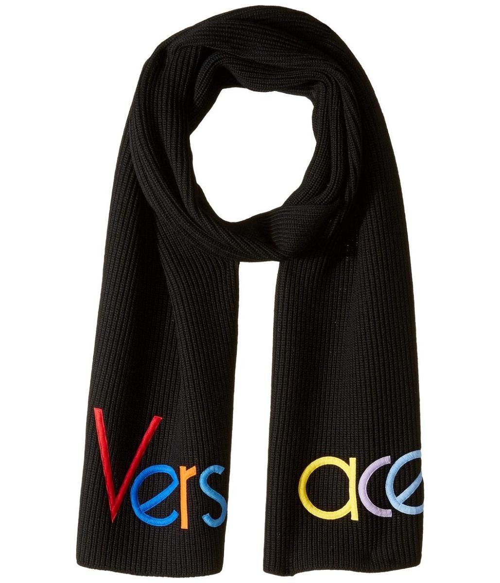 Versace Half Logo Mens Knit Scarf from Zappos Luxury