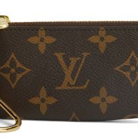 Louis Vuitton Monogram Brown Key Pouch