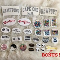 29 Brandy Melville Stickers Bundle VSCO Pack Sticker Malibu California New York