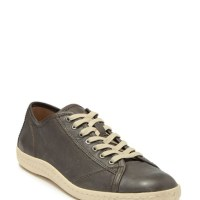 John Varvatos Star USA Star H Leather Sneakers - Mens Shoes