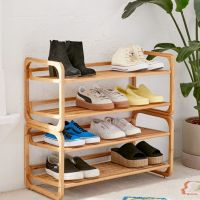Stackable Bamboo Shoe Rack - Online Only