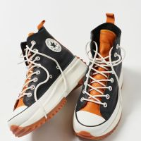Converse Run Star Hike Leather High Top Sneakers - Womens Shoes