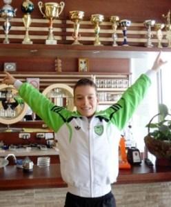 Марко Миладиновић победник Дворанског првенства Србије до 14 година