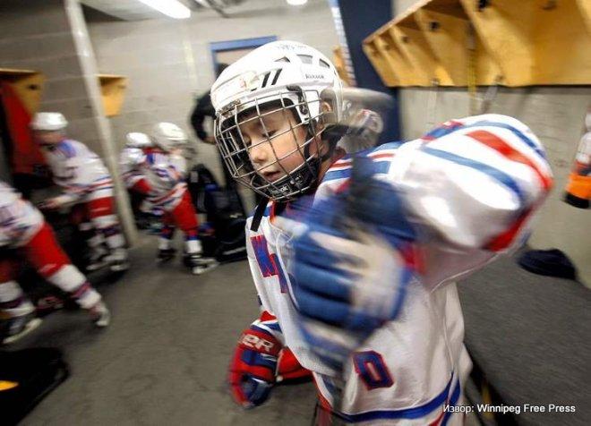 Hokej za decu, Kanada, Mali igrači