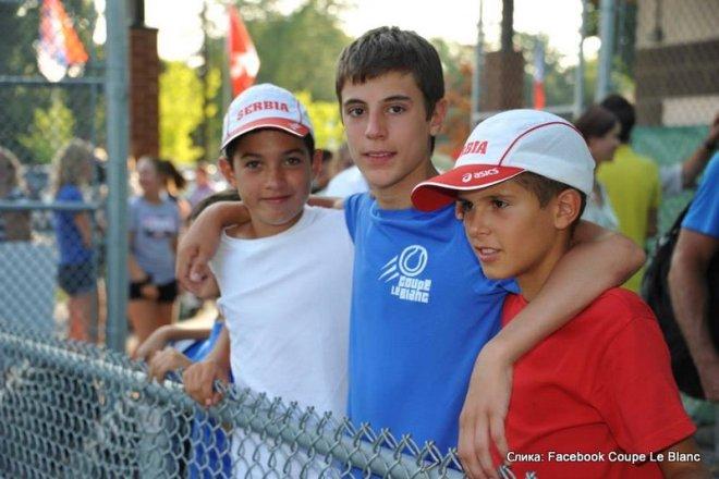 Reprezentacija Srbije u tenisu na Coupe Le Blanc u Kanadi