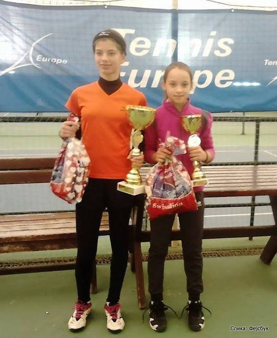 Ana Vilček i Darija Radulova, finalistkinje Beograd Open 2015 u TK Trim