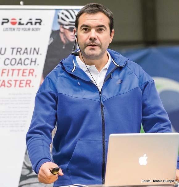 Tennis Europe, Jaime Fernandez, kondicioni trener Španske teniske federacije i naučnik za oblast sporta
