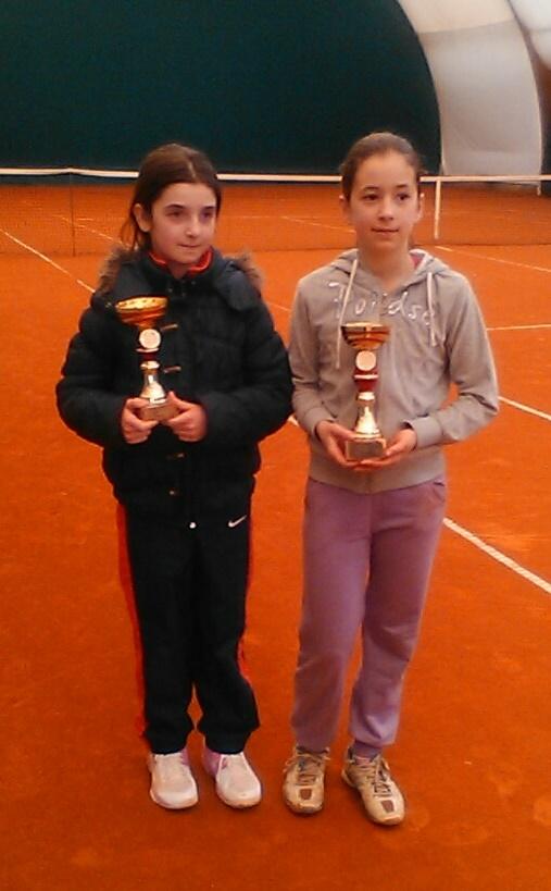 Jovana Cvetković i Mia Marjanović