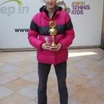 Isidora Živković, pobednica Otvoreno prvenstvo Beograda u tenisu do 16 godina, Teniski klub Step In