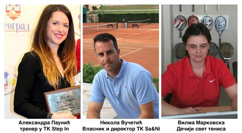 Aleksandra Paunić, Nikola Vučetić Kića i Vilma Markovska, Percepcija takmičarskog tenisa