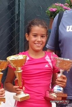 Anja Petković, Teniski klub Haron Beograd