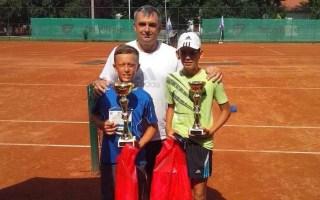 Luka Jovanović i Stefan Skobelev, Vidovdanski turnir do 12 godina, Teniski klub Kruševac