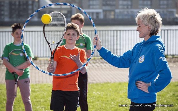 Judy Murray, Džudi Marej, Saveti Džudi Marej kako uvesti decu u tenis
