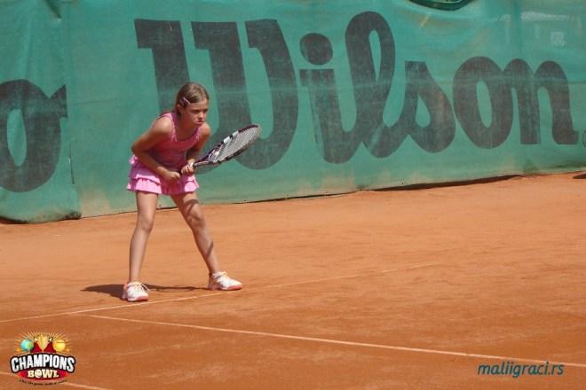 Mia Smiljanić, 8. teniske nade, Champions Bowl 2015, Teniski klub Haron Beograd