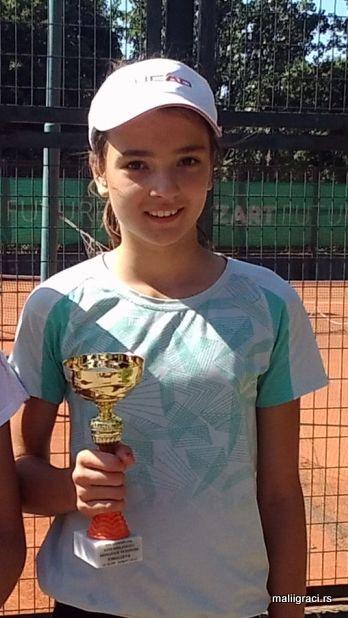 Anamarija Kovačević, Mišin memorijal do 12 godina, Teniski klub Olimp Beograd