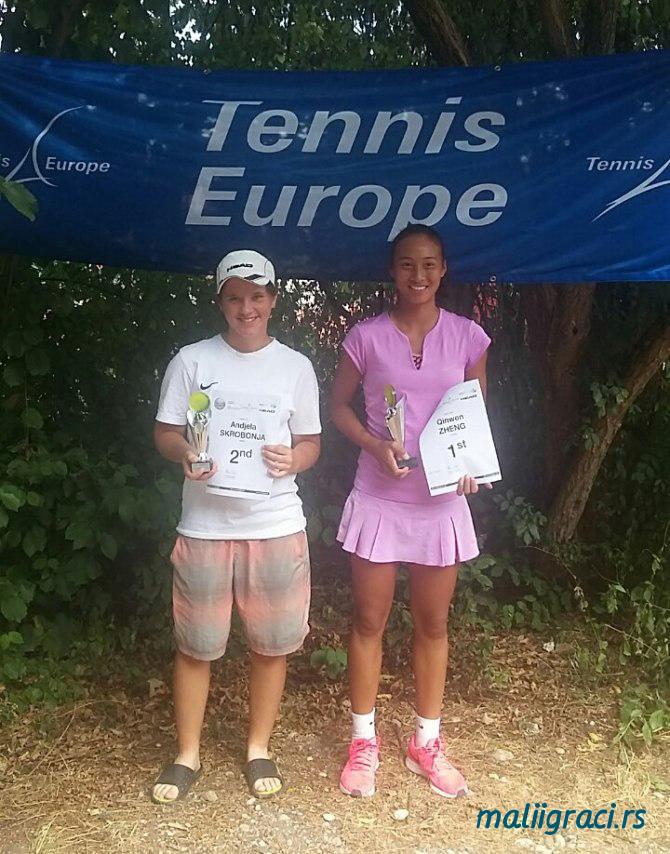 Anđela Skrobonja, Qinwen Zheng, Audi GW plus Zentrum München Junior Open U14, SC Eching tennis, Tennis Europe Junior Tour