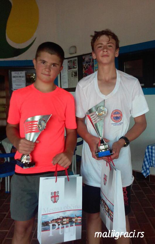 Mateja Janićijević, Oliver Sabo Rac, Terme Ptuj Open 2015 U12, TK Terme Ptuj Slovenia