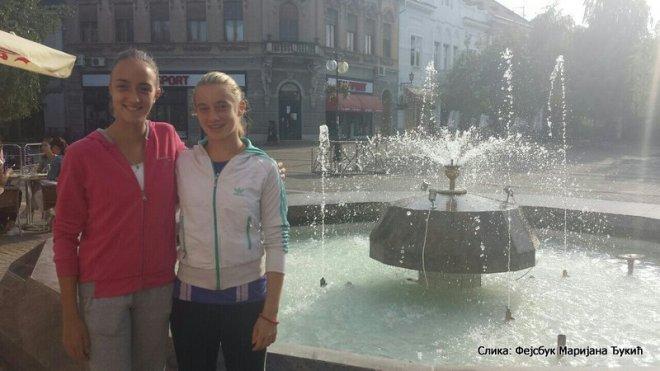 Natalija Đukić, Milana Vulin, Berba grožđa do 14 godina, Teniski klub Vršac