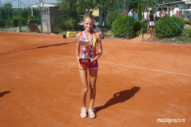 Doroteja Petrović, Ekipno prvenstvo Srbije za devojčice do 12 godina, Teniski klub Winner Novi Beograd, Teniski klub Haron Beograd