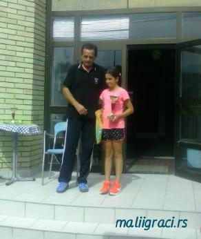 Mia Marjanović, Otvoreno prvenstvo Dunava u tenisu do 14 godina, Teniski klub Dunav Bačka Palanka