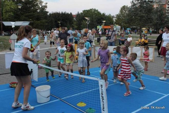 Promocija dečjeg tenisa u Nišu, Teniski klub Kostić Niš