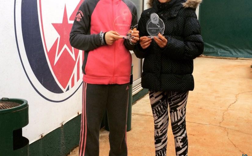 Daria Shuvyrdenkova, Anja Petković, Božićni turnir do 12 godina, Teniski klub Crvena zvezda Beograd