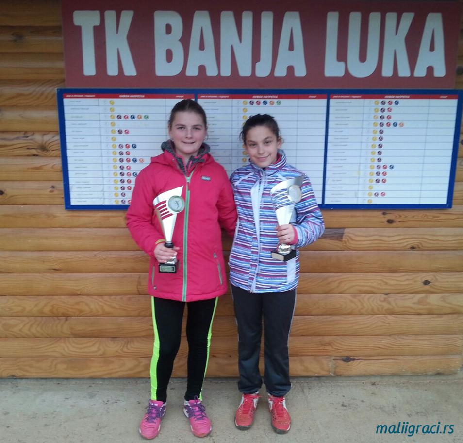 Jovana Đurić, Nina Mišić, Zimsko prvenstvo Republike Srpske do 12 godina, Teniski klub Banja Luka