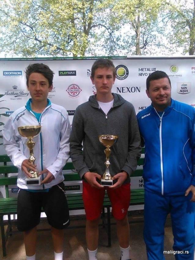 Кристиан Јухас други на ETA Sun Aqua Playmax Open U16 у Будимпешти