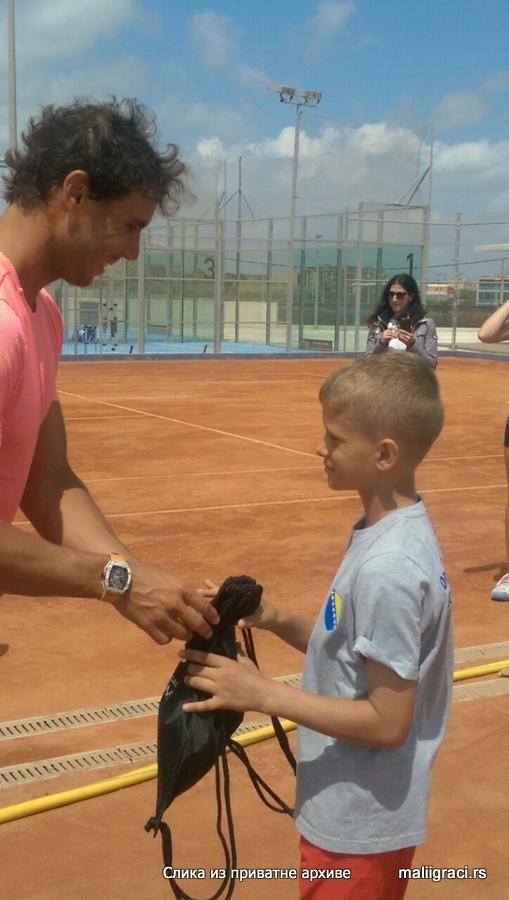 Ahmed Hurtić, Rafa Nadal Academy, Akademija Rafe Nadala