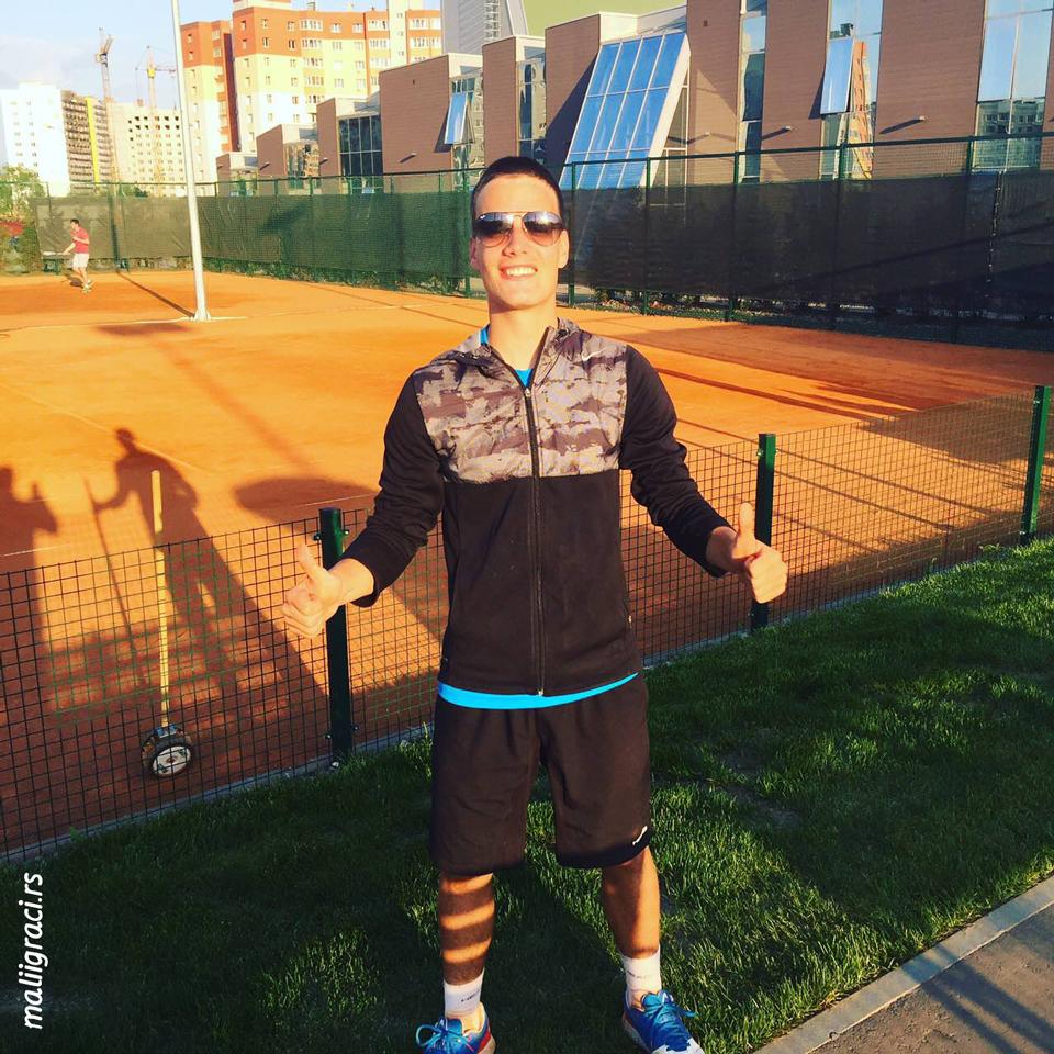 Marko Miladinović, Ozerov Cup Ryazan Russia U16, ITF tennis