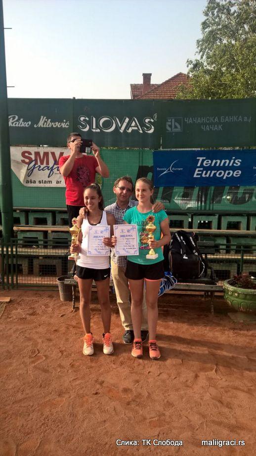 Francesca Curmi, Cacak Open 2016 U14 Čačak, Tennis Europe Junior Tour, Teniski klub Sloboda Čačak