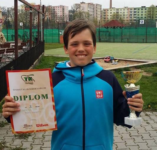 Aleksa Pisarić, Nerida Cup 2017 U12 Prag, Tennis Europe Junior Tour, Prague, Češka Republika, Chech Republic