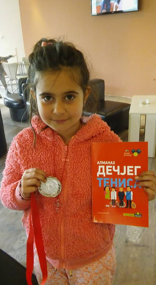 Emilija Isidorović, Almanah dečjeg tenisa, Sajt o dečjem tenisu Mali igrači, dečji tenis, kids tennis