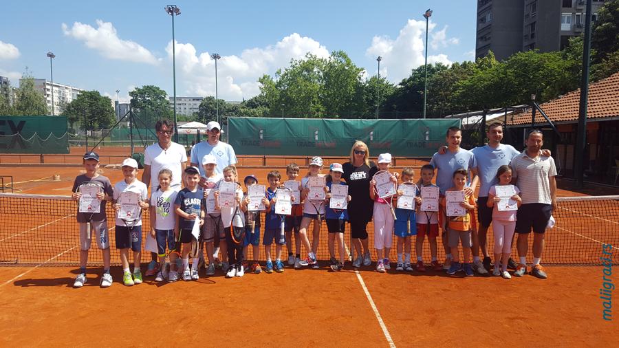 Teniski klub Gazela Beograd, Klupski turnir