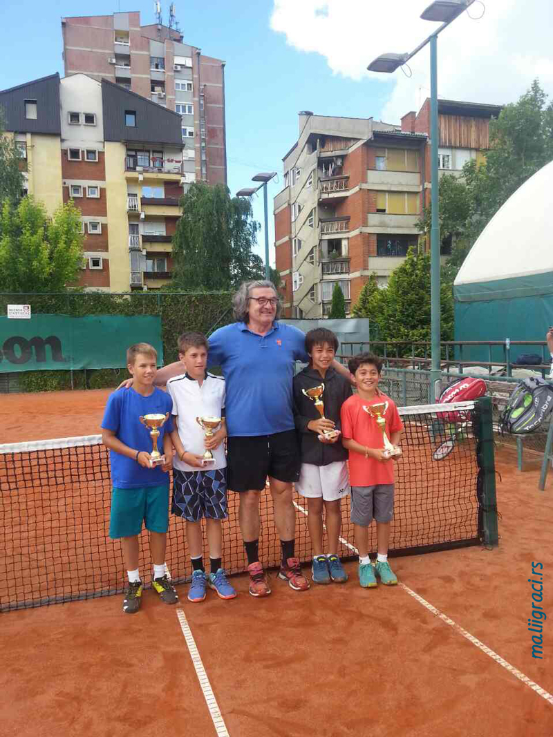 Branko Đurić, Zoran Ludoški, Nicholas Miharu Bowles-Rokudo, Lennon Roark Jones, Tennis Point Open 2017 Čačak, Tennis Europe Junior Tour, Teniski klub Tennis Point Čačak