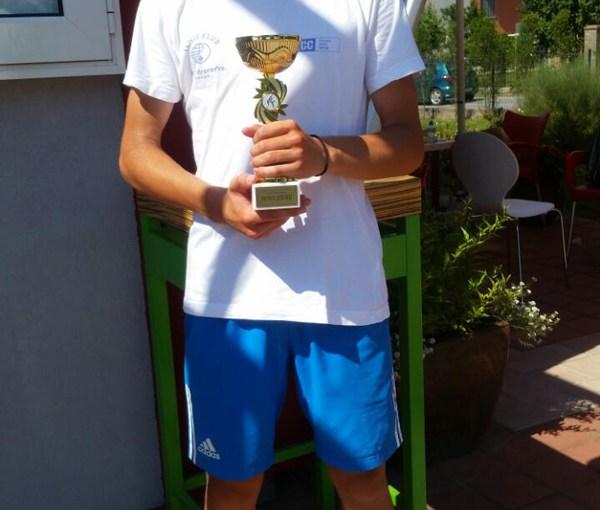 Mali teniser Lazar Danić, TK Kosovska Mitrovica