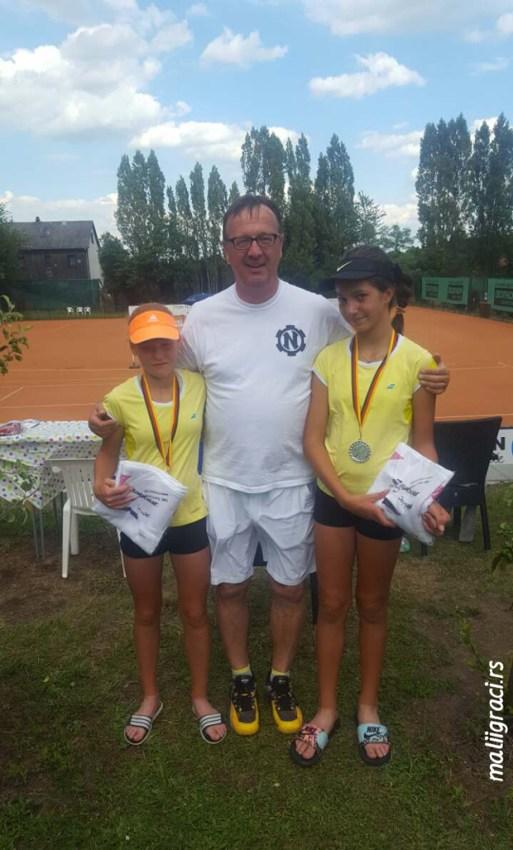 Лола Радивојевић финалисткиња дубла на proWIN Saarland Junior Open ЕТА U12 у Немачкој