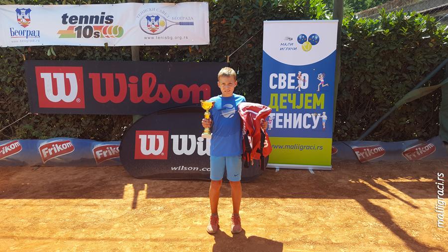 Novak Ivanović, 10. Teniske Nade 2017, Trofej Beograda, Teniski klub Haron Beograd, Champions Bowl by Wilson