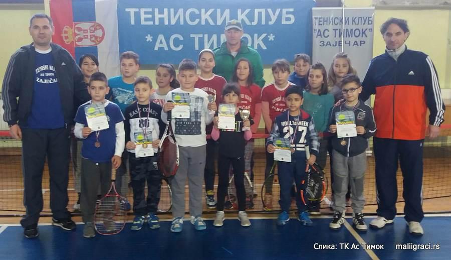 Otvoreno prvenstvo Zaječara do 8 godina crveni nivo, Teniski klub As Timok Zaječar