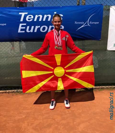 Aleksandra Simeva, 2018 ITF-Tennis Europe Development Championships U14, 2018 ITF-Tennis Razvojni turnir U14 Antalija Turska