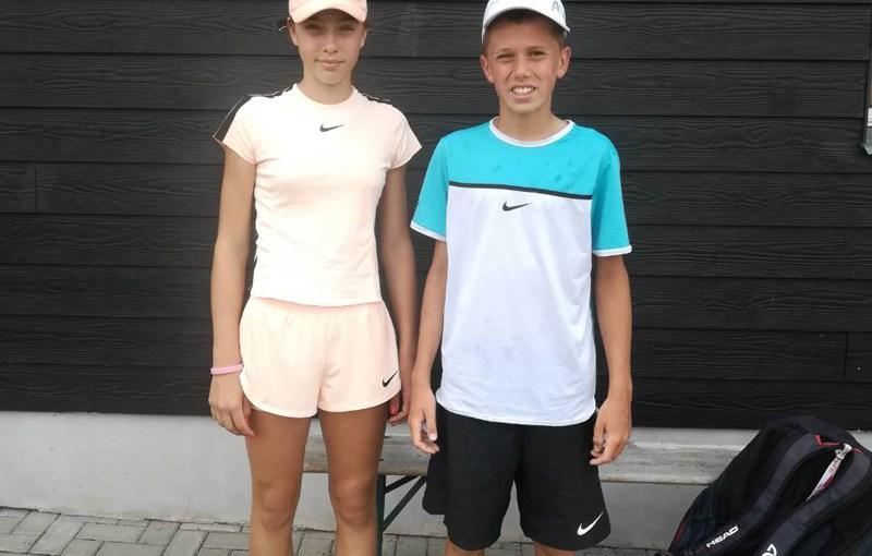 Nikola Zekić, Darja Šuvirđonkova, He Ziheng, Pecs Junior Tennis Cup U14 Pečuj Mađarska, Tennis Europe Junior Tour