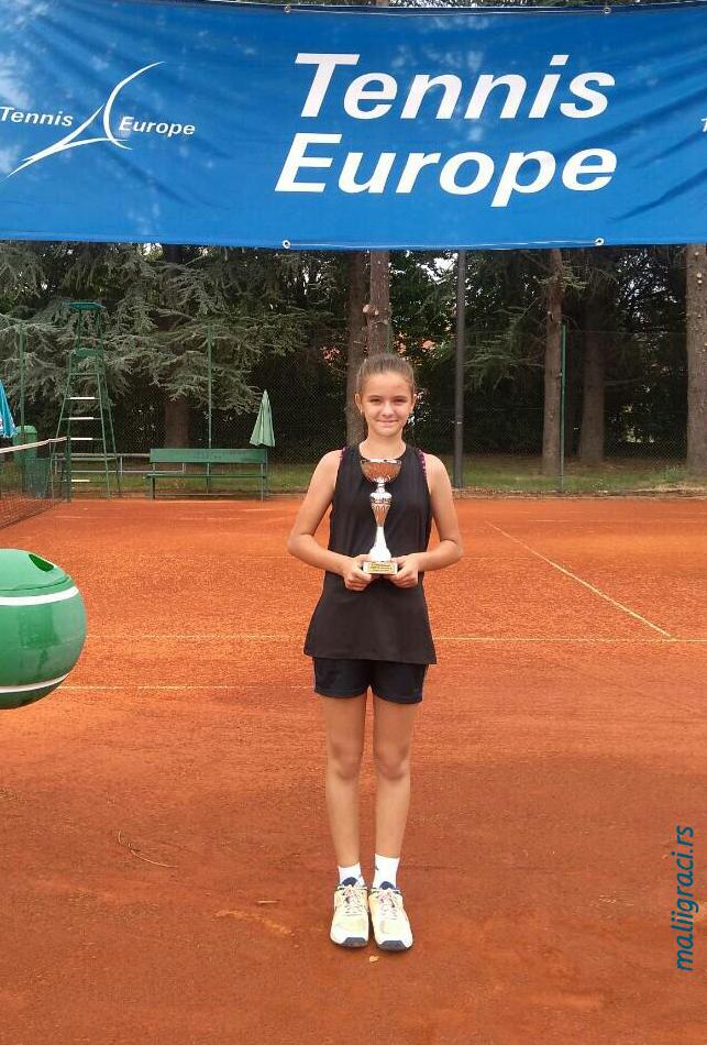 Katarina Milošević, Teniski klub Dinamo Pančevo