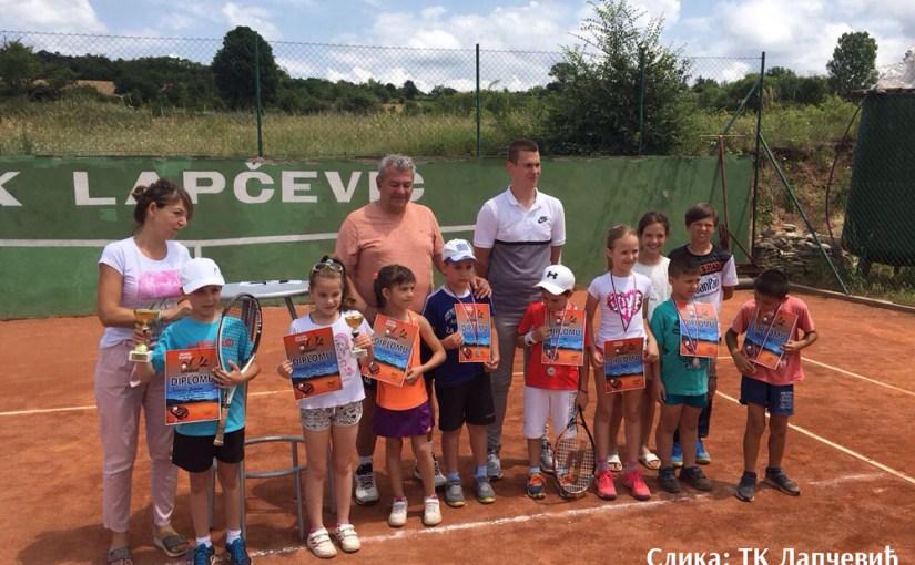 Otvoreno prvenstvo Sokobanje do 8 godina crveni nivo, Teniski klub Lapčević Sokobanja, Teniski kamp Lapčević Sokobanja