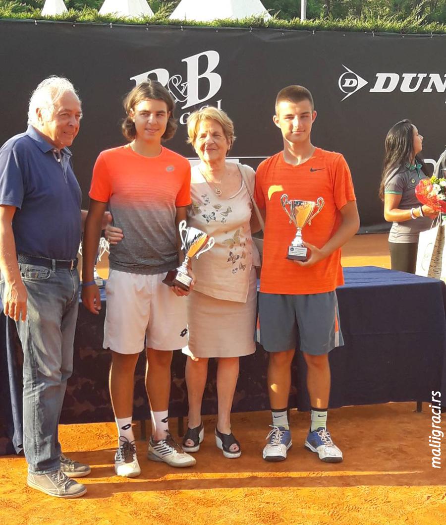 Stefan Popović, Dimitrije Zubac, 54° Torneo Avvenire U16 Milano Italija, Tennis Europe Junior Tour