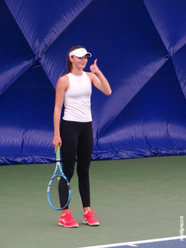 Фатма Идризовић полуфиналисткиња ITF турнира J4 Kramfors (4. разреда) у Шведској