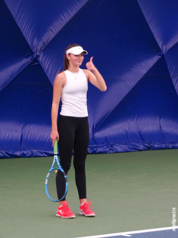 Fatma Idrizović, Pripreme reprezentacije Srbije za Winter Cups 2019, Teniski savez Srbije, Teniski centar Novak