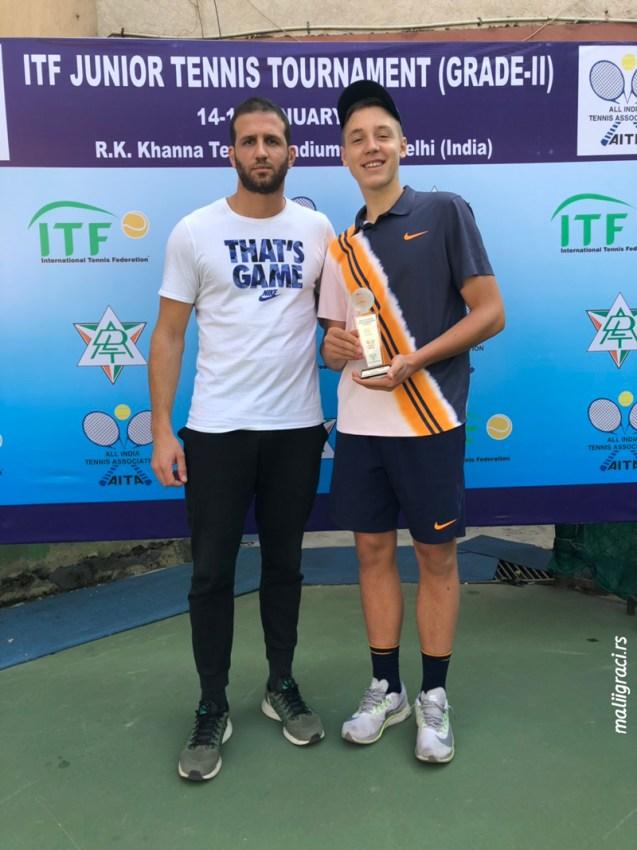 Хамад Међедовић победник India ITF Juniors (G2) у Њу Делхију